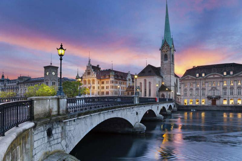 Viaggio Studio Svizzera Zurigo
